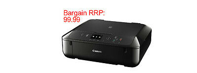 CANON PIXMA MG5750 All-in-One Wireless Inkjet Printer Black RRP £99.99 SOLD50+