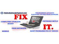 Computer / Laptop / Devices - MOBILE-REPAIR, FIX
