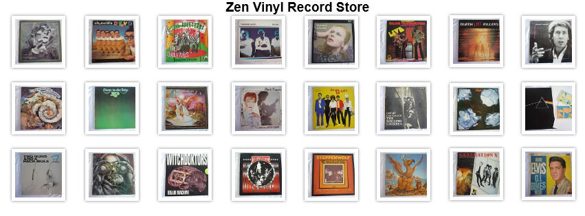 Zen Vinyl Record Shop