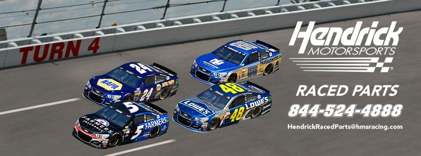 Hendrick Motorsports Raced Parts