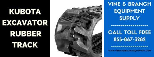 2x Premium Kubota Excavator Rubber Tracks  Kx161-3