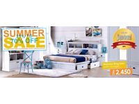 Kingsize bed & Mattress like new bargain price must go