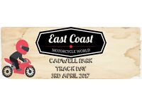 East Coast Motorcycle World Track Day - Cadwell Park - Only £95 per person