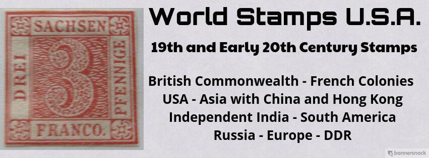 World Stamps U.S.A.