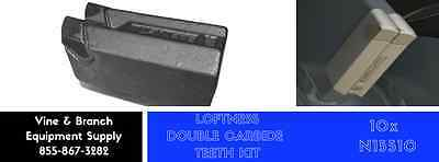 10 X Loftness Style N15510 Double Carbide Tool Kit