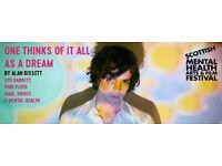 Syd Barrett - One Thinks Of It All As A Dream - Oran Mor - 3 Tickets