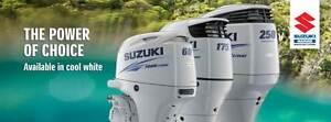 SUZUKI WHITE OUTBOARDS Largs North Port Adelaide Area Preview