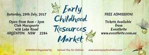 Early Childhood Resources Market - FREE ENTRY ECRM2017 Argenton Lake Macquarie Area Preview