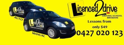 Auto & manual driving lessons Brisbane - always affordable prices  Cannon Hill Brisbane South East Preview