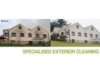 Pebble dash cleaning, K rend cleaning, Softwash cleaning methods for most exterior surfaces