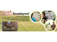 IMMEDIATE STARTS! No Experience required as full training provided £7.20-£10ph Plus UNCAPPED BONUS