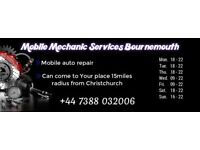 Mobile Mechanic Services Bournemouth