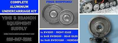 Asv Complete Bair Aluminum Undercarriage Kit Rc50 Rc60 Pt50
