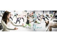 Brand new VeraFlow classes (a fusion of yoga & dance) in Southampton/Portsmouth/Hamble & more