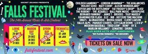 Falls Festival Ticket + Camping BYRON BAY Speers Point Lake Macquarie Area Preview