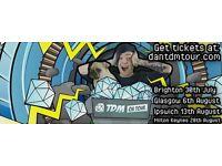 DanTdm tickets X 3 Edinburgh with signed book