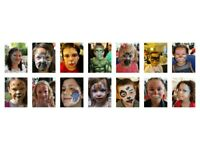 * EXPERIENCED, INSURED AND RELIABLE FACE PAINTER/PAINTING/GLITTER TATTOOS/SPECIAL EFFECTS MAKEUP *