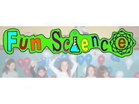 Children's entertainment business for sale - Science Parties