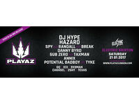 True Playaz - Back In London - Brixton Electric 21/1/17 x 4 tickets avail £15 each (can split)