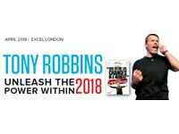 Tony Robbins UPW London 2018 - Unleash the Power Within Tickets - Special Offer!