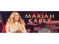 5 tickets for Mariah Carey 'All I want for Christmas is You' Concert - O2 Arena, London.