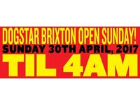Audio Sushi Bank Holiday Sunday Party at the Dogstar 30th April