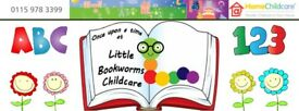 Little Bookworms Childcare - Quality home from home Childcare for children of all ages.