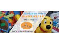 Mum2mum market Kings Heath nearly new baby, maternity and children's sale