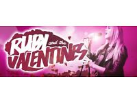 Ruby And The Valentines looking for a singer to dep on the 3rd Feb