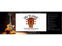 In Tune Guitar Lessons (Acoustic / Electric Guitar / Bass / Prouduction / Theory / Ukulele)