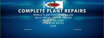Wanted: Plant and Earthmoving equipment repairs.
