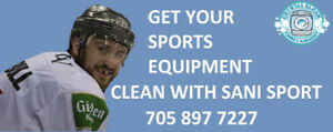 Get Your Sports Equipment Clean!!!!