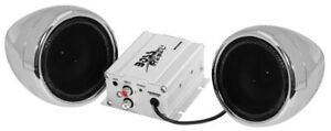 Motorcycle/ATV Speaker and Amplifier System