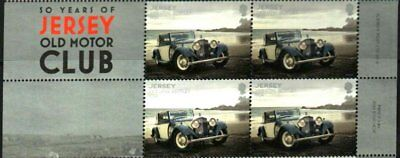 1934 BENTLEY 3½-LITRE CLASSIC CAR JERSEY TITLE BLOCK OF 4 MNH for sale  Shipping to India