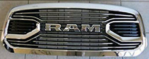 Wanted 2016 to 2018 Chrome Ram Limited Grill