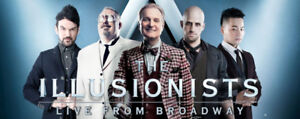 """TWO tickets to """"The Illusionists: Live From Broadway"""""""