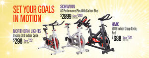 Commercial Grade Spin Bikes On Sale Starting At 498.00