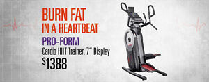 Londons Only Authorized  Pro-Form Cardio HIIT Trainer