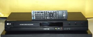 LG DVD, 80 GB HDD Recorder, Burner Model LRH-880 With Remote.