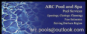 ARC Pool and Spa Openings Promotional Open 150$