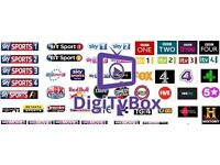 SALE☆OPENBOX V9S SATELITE RECEIVER SKY TV + 12 MONTHS GIFT PLUG AND PLAY SALE☆