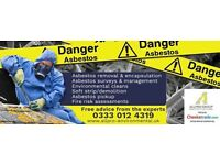ASBESTOS REMOVAL, ADVICE, SURVEY, WASTE, RUBBISH, DEMOLITION