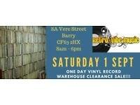 """Massive Vinyl Record Warehouse Clearance (LPs 7"""" 12"""" 78s)"""