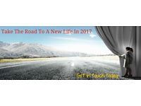 Take The Road To A New Life In 2017 Glasgow, Stirling,Edinburgh,Dundee, Perth & Surounding Area's