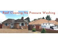 Roof Cleaning No Pressure Washing |Oxfordshire | Northamptonshire |