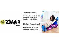 Join Zumba in Glasgow city centre&Dennistoun area FIRST CLASS FREE!