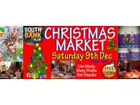 Looking for Christmas Market Stall Traders! Sat 9th Dec 11-4pm