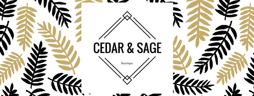 Cedar and Sage Boutique