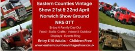 Eastern Counties Vintage Show 21 & 22 April