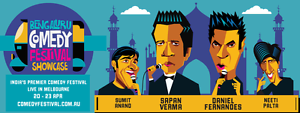 Bengaluru Comedy Festival Showcase Melbourne CBD Melbourne City Preview
